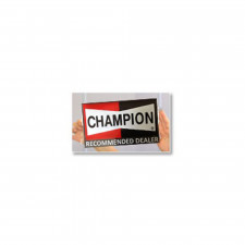 Sticker Champion pour vitre - image #