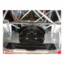 16 inches spare wheel carbon bracket - image #
