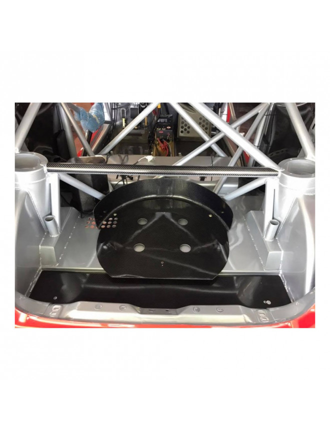 16 inches spare wheel carbon bracket