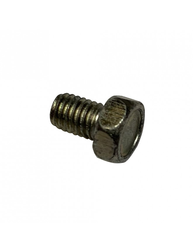 Choke cable outer clamp screw