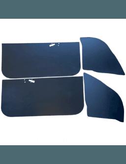 Set of 4 PVC door panels BMW E30 Coupé