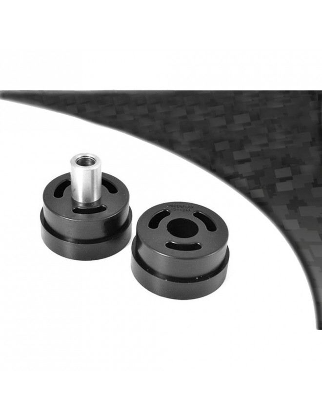 Powerflex Bushing Black Subaru Rear Subframe Front Outrigger to Chassis Right Side 2000-2007 (1 Piece)