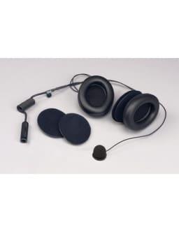 Kit Micro / Hauts Parleurs Stilo avec Coquilles Casque Intégral Ecouteurs