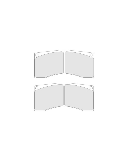Brake pads CL Brakes RC8 Peugeot 206 Super 1600