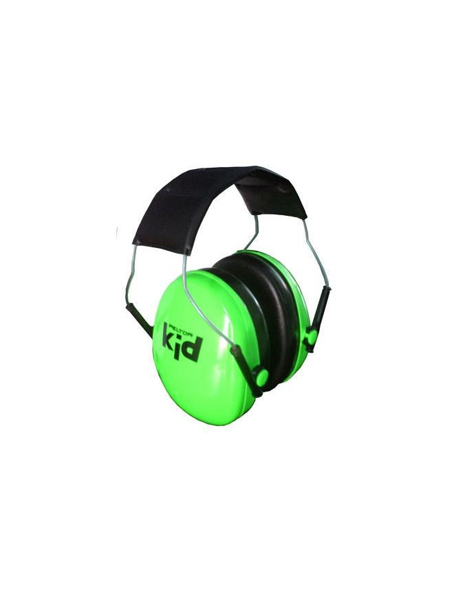 Casque Anti-Bruit Peltor Enfant Peltor KID Vert Protection Auditive