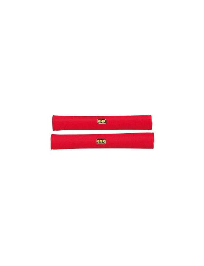 Mousse / Fourreau de Protection Arceau OMP Rouge Longueur 50 cm