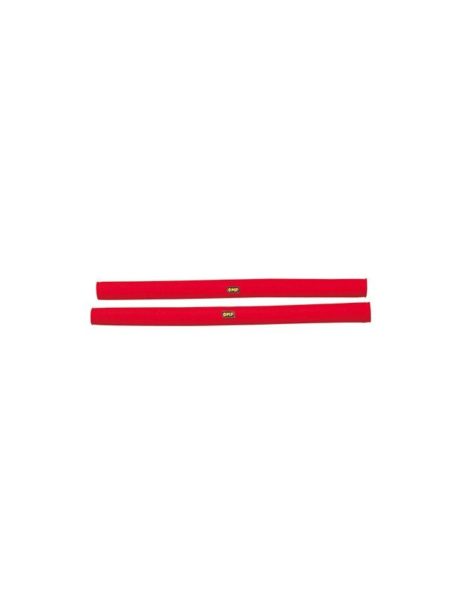 OMP Red Foamed Rollbar Cover Length 1 Meter