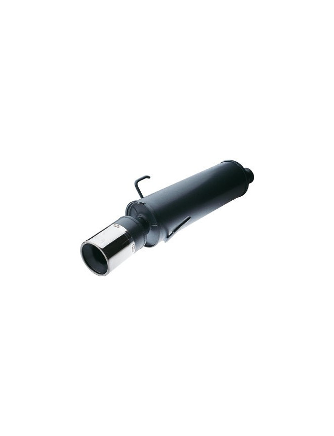 Rear Exhaust / Muffler Peugeot 206 1.6 XS/ 1.3 EEC Approved outlet 100mm