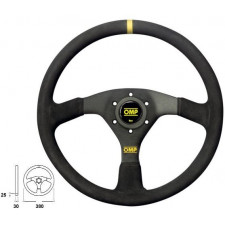 OMP Velocità 380 Black Steering Wheel 380mm Suede