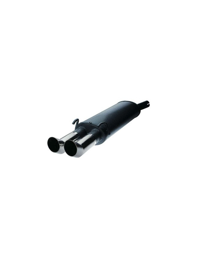 Rear Exhaust / Muffler Seat Leon 1.9TDI After 2000 2 Outlets DTM EEC Approved