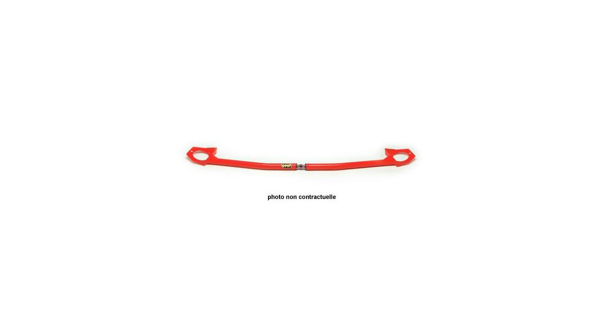 MA//1660 OMP FRONT UPPER RED STRUT BRACE FORD ESCORT COSWORTH