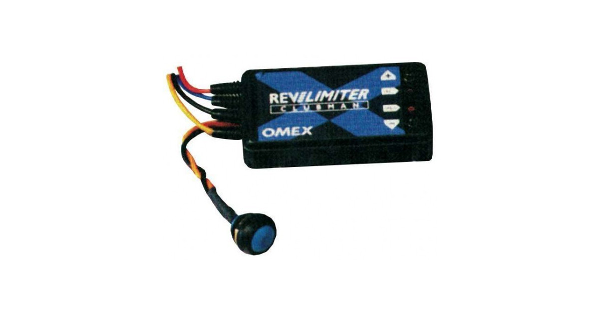OMEX Race//Rally//Motorsport//Racing Clubman Engine Rev Limiter Twin Coil