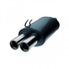 Rear Exhaust / Muffler Renault R19 16S 3 Doors EEC Approved 2 Outlets 63mm