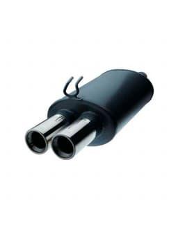 Scarico / Silenziatore Renault R19 16S 3 Porte Omologato CEE 2 Uscite 63mm