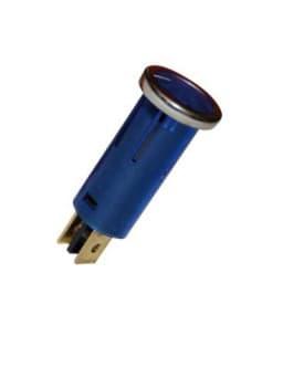 Voyant Lumineux Tubulaire Bleu 16.75mm