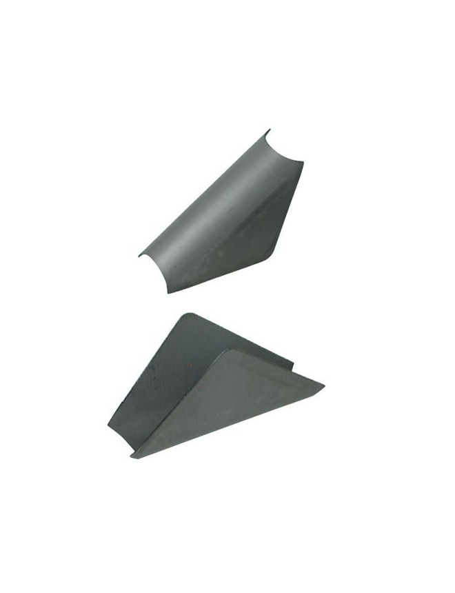 GT2I Rollbar Gusset in Reinforced Steel Thickness 1.5 mm Angle 80°
