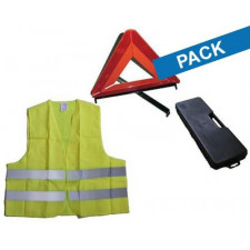 Kit Triangle + Gilet de Securité CEE