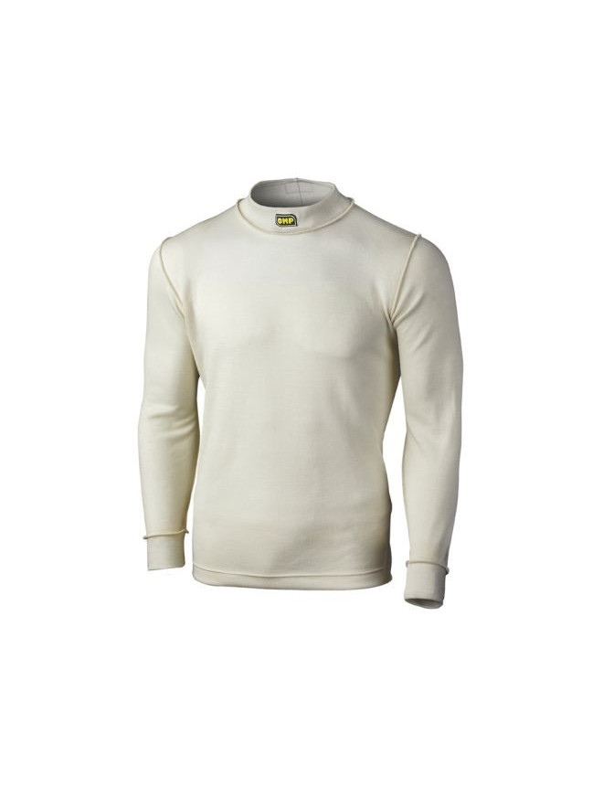 OMP Long Sleeved T-shirt FIA Nomex Ecru