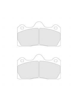 Plaquettes de Frein CL Brakes RC6 Peugeot 206 RCC