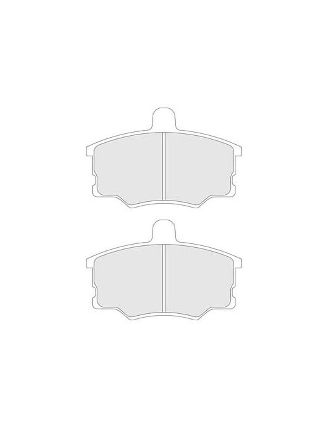 Brake Pads Cl Brakes Rc6 Front Fiat Uno Turbo