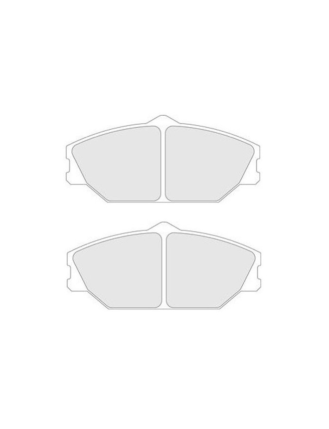 Brake pads CL Brakes RC6 front Renault Clio II RS