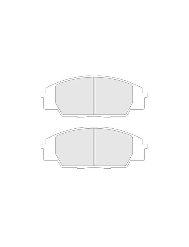 Brake pads CL Brakes RC6 front HONDA Civic Type-R from 01 to 06