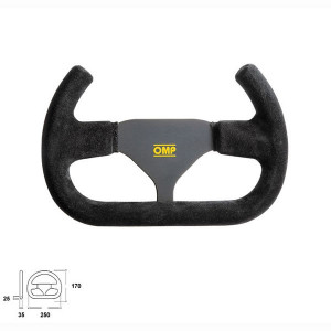 Volant OMP Indy Ouvert 250mm