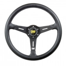 OMP Sand Black Polyurethane Steering Wheel 380mm