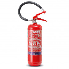 Sparco Steel Hand Held Extinguisher FIA 4kg