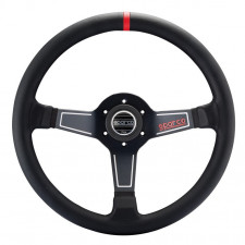 Sparco L575 Black Leather Steering Wheel