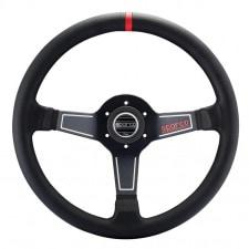 Sparco L575 Black Leather Steering Wheel