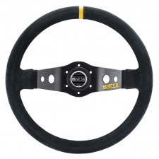 Sparco R215 Black Leather Steering Wheel