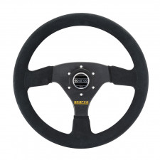 Sparco R323 Black Suede Steering Wheel