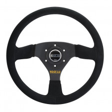 Sparco R333 Black Suede Steering Wheel