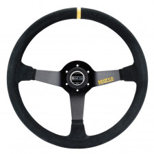 Sparco R368 Steering Wheel Black Suede