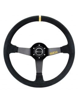 Sparco R368 Steering Wheel Black Suede