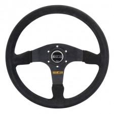 Sparco R375 Steering Wheel Black Suede