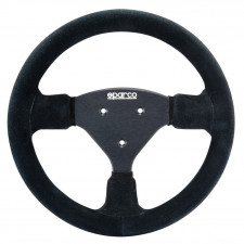 Sparco P270 Black Suede Steering Wheel