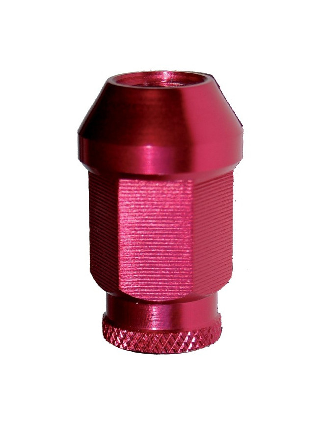 Open Conical Nut 12x150 Red Alu X20