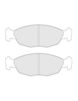 Brake pads CL Brakes RC8 front Peugeot 106 S16