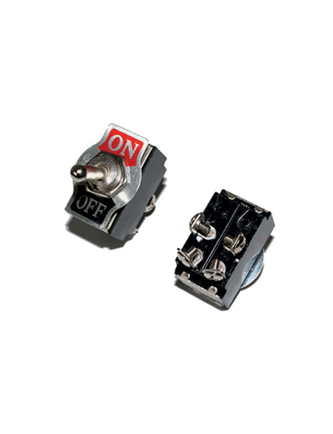 Interruttore ad Impulso ON / OFF 25 Amps