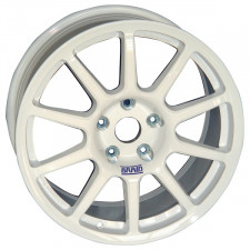 Rims BRAID FullRace A Size 7X17 Center Distance 4X100 Deport 34 Bore 60 White Renault