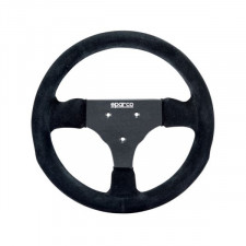 Sparco P285 Steering Wheel Black Suede