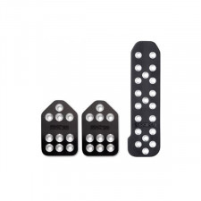 Sparco Piuma 3 Black Pedals Kit Specific for BMW