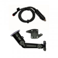 Kit support Ventouse Alimentation Allume Cigare Ordinateur de Bord Monit