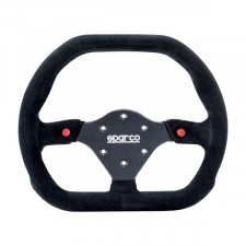 Sparco P310  Black Suede Steering Wheel