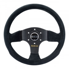 Sparco P300 Steering Wheel Black Suede