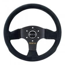 Sparco P300 Steering Wheel Black Suede
