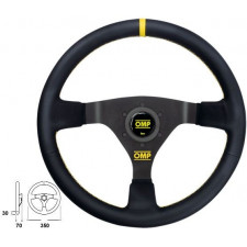 OMP WRC Soft Leather Steering Wheel