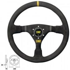 OMP WRC Suede Steering Wheel